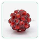 Abalorio Rhinestone R2 - 014 Rojo (5 abalorios)