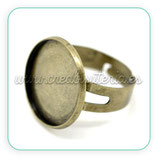 Anillo bronce antiguo 18mm ANIOOO-C15126