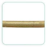 Cordón de Nylon y PVC 46x5mm Dorado