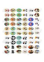 60 imágenes de Michey Mouse 18x25mm