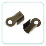 Terminal 9x4mm bronce viejo (30Unid) ACCTER-C75402