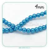 Abalorio cristal azul claro aperlado 4mm (1 tira de 210 unidades aprox.) ABAL-Cristal C21222