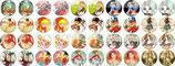 40 Imágenes de Cuentos Infantiles 15x15mm