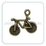 Charm TRANSPORTES -  bicileta mini bronce viejo  CHAOOO-C13459 (4 unidades)