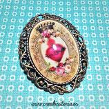 Broche vintage del Sagrado Corazón de Jesús  BSC01