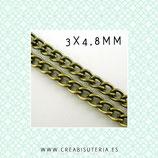 Cadena sencilla eslabón enlazado (5m.) C481