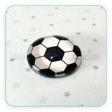 Cabuchón Cristal pelota de futbol 14mm  (2 unidades)