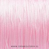 Cordón macramé 1mm   Color Rosa bebé (5 metros)