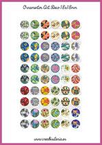 60 Imágenes Ornamentos Art Decó I 18x18mm