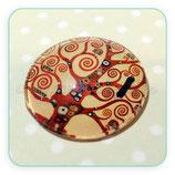 Cabuchón Cristal ilustrado El Árbol de la Vida  de Klimt