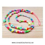 Cuelgamóviles multicolor acrílico Tamaño largo y personalizado