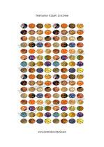 128  texturas Klimt 10x14mm