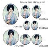 Imagen Dama Vintage 002