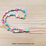 Cuelgamóviles multicolor acrílico Tamaño pequeño - Abalorios mixtos