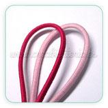 Cordón de goma Rosa 2mm