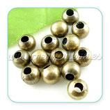 Entrepieza BOLA I - 05-  bronce antiguo 10mm (10 piezas) ENTOOO-C0123