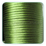 Cola de ratón color verde musgo rollo 50m
