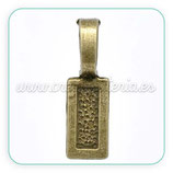 Util- Soporte para colgante bronce viejo ACCOTR-C12907 (10 unidades)