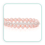 Abalorio cristal rosa aperlado 4mm (1 tira de 210 unidades aprox.) ABAL-Cristal C38156