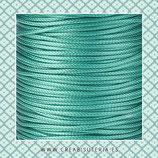 Cordón plastificado TURQUESA 1,5mm (4 unidades)