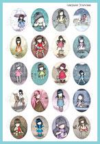 Muñecas de moda MODELO 1