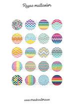 Imágenes Textura Rayas Multicolor New*