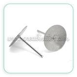 Pendiente base botón (20 pares)  ACCBAS-C17129