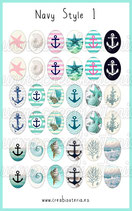 36 imágenes Navy Style I 18x25mm