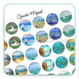 Lámina de  Imágenes de Claude Monet