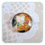 Cabuchón Cristal ilustrado Beso de Klimt