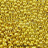 Entrepieza BOLA II - x-  dorada 2,4mm (2000 piezas) ENTOOO-C868