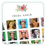 Imágenes FRIDA KAHLO Nuevo modelo CUADRADO a todo color 25 imágenes