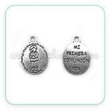 Charm medalla Primera Comunión niñ0 III COLOOO-R30633