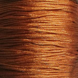 Cordón macramé 1mm    Color marrón teja   (5 metros)