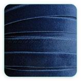 Cinta terciopelo elástico 9mm color Azul marino