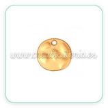 Dorado Mate - medalla  009  (4 unidades)