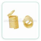 Terminal espiral 10x5mm dorado (30Unid) ACCTER-C66397