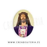 Cabuchón Cristal Religión - Cristo Medinaceli