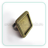 Anillo ornamental base cuadrada 20mm ANIOOO-R25414