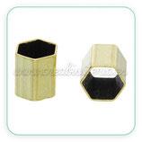 Tubo hexagonal latón TUB-C63749 (10 unidades)