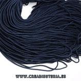 Cordón de Nylon de Escalada Redondo 2mm aprox.  azul marino  (3 metros)