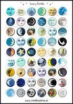 54 Imagenes Lunas y estrellas *NUEVA VERSIÓN*