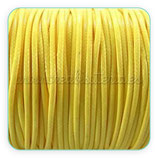 Cordón plastificado amarillo finito 1mm (4 metros)