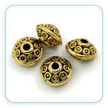 Entrepieza dorada - DO1- 03 -  ENTOOO-C25103 (10 piezas)