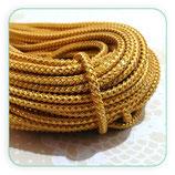 Cordón de Poliéster dorado 3mm