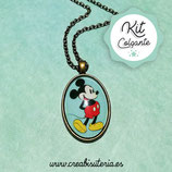 KIT GOLGANTE CAMAFEO 18x25mm Mickey Mouse