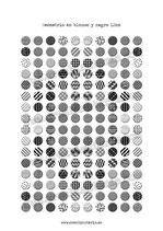 160 Imágenes geometría blanco y negro 12mm