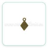 Charm mini - 008 - rombito bronce viejo C63089  (20 unidades)