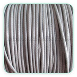 Cordón plastificado color gris1,5mm (4 unidades)