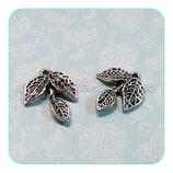 Hoja  - 052B - plata vieja 3 hojas  CON-P339-26-NR